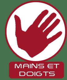 logo d'une main constituée de doigt
