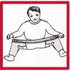 Attelles d'abduction des hanches