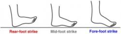 Posture du pied