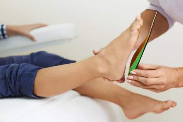 Consultation pour des semelles orthopédiques
