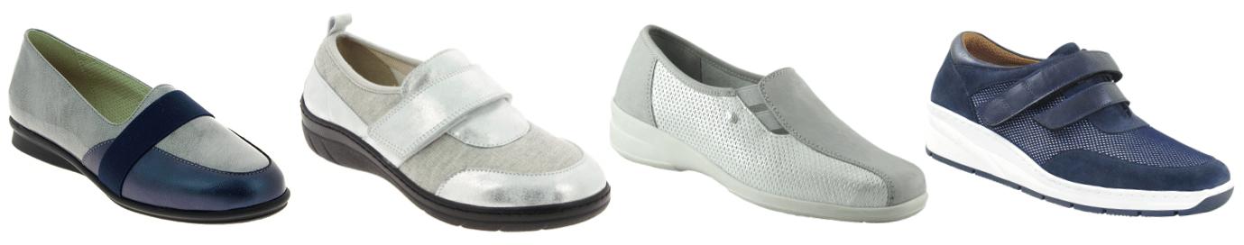 chaussures orthopédiques pieds sensibles