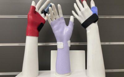 attelle de main - attelle thermoformée - attelle sur-mesure - orthèse de main - orthèse sur-mesure - orthèse thermoformée - orthopédie - sur-mesure