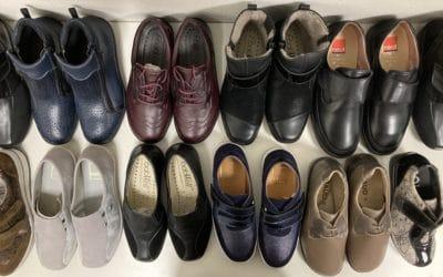 chaussures orthopédiques pour pieds sensibles