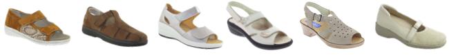 chaussures - chaussures orthopédiques - pieds gonflés - pieds qui gonflent - chaussures pieds gonflés - chaussures d'été - chaussures confortables - chaussures larges