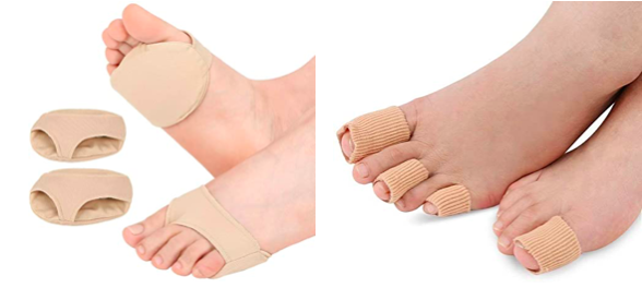 protections d'orteils ; soulager douleurs au cor pied ; cor au pied protection