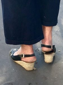 mauvais chaussant - chaussures non adaptées - douleurs pieds