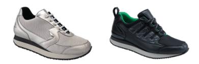 chaussures de marche senior - basket de marche senior - chaussures orthopédique senior - chaussure confortable senior -  chaussure de marche avec contrefort renforcé et capitonné