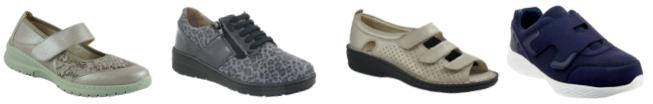 chaussure senior - chaussure orthopédique - chaussure confortable - chaussure matériaux souples